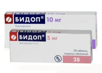 Бидоп 5 мг 28 табл цена 194 руб в Москве, купить Бидоп 5 мг 28 табл инструкция по применению, отзывы в интернет аптеке