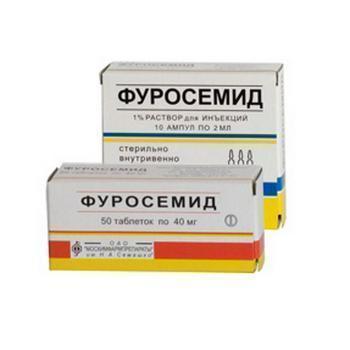 Фуросемид нужно пить с какими таблетками