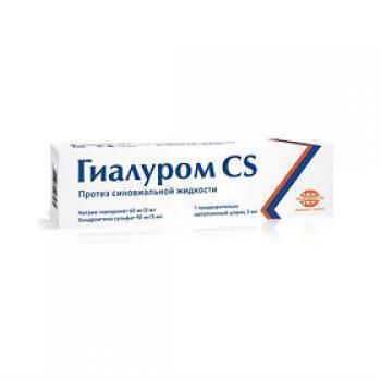 Применение препарата Гиалуром CS для лечения суставов