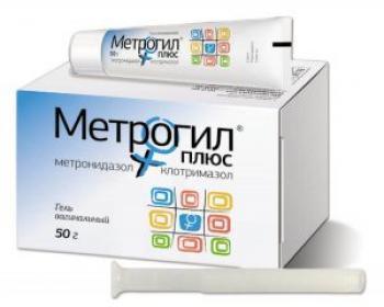 Метрогил плюс купить, цена на Метрогил плюс в Москве от 214 руб., инструкция по применению, отзывы.