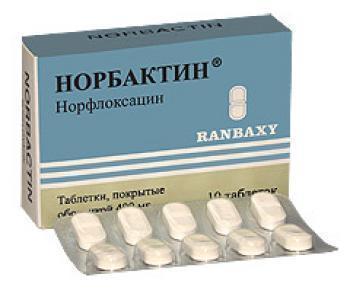 Таблетки Норбактин от чего помогают, показания к применению