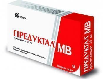 Предуктал и Предуктал MB: инструкция по применению, цена, отзывы кардиологов, дешевые аналоги