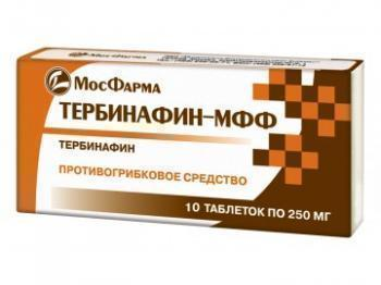 Мазь тербинафин мфф от чего помогает