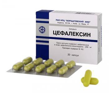 Цефалексин капсулы 500 инструкция по применению