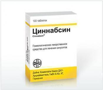 Циннабсин цена в Москве от 561 руб., купить Циннабсин, отзывы и инструкция по применению