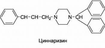 Циннаризин для инъекций его свойства: инструкция по применению