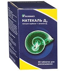Особенности применения лекарства Натекаль Д3