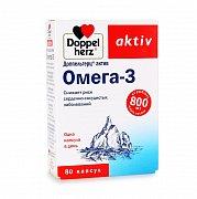 Доппельгерц Актив Омега-3 капсулы 800 мг 80 шт.